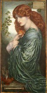 by Dante Gabriel Rossetti Oil on canvas - 1882 Birmingham Museum & Art Gallery