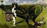 Green Tea, or La Dame Ovale, by Leonora Carrington 1942