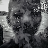Double exposure Kingsbury Water Park 120mm film Diana F+ 2014